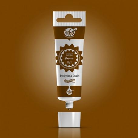 Colorant progel marron chocolat