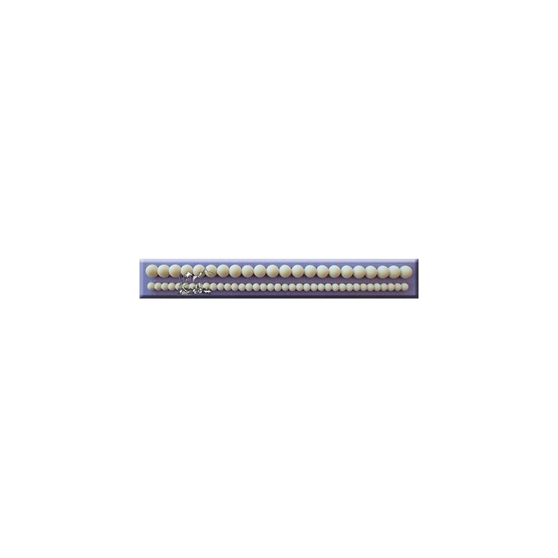 moule silicone collier de perle deux tailles