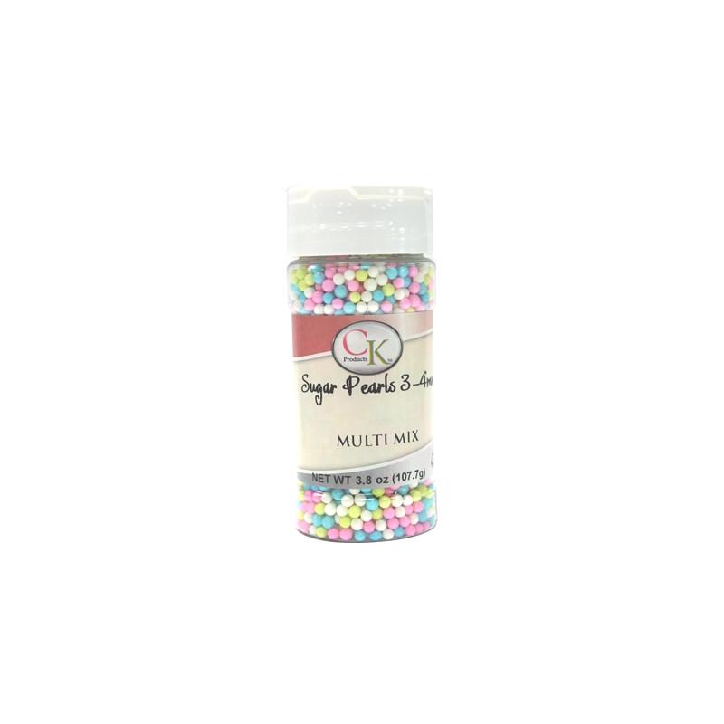 PERLES MULTI COULEUR  pastel 102 gr