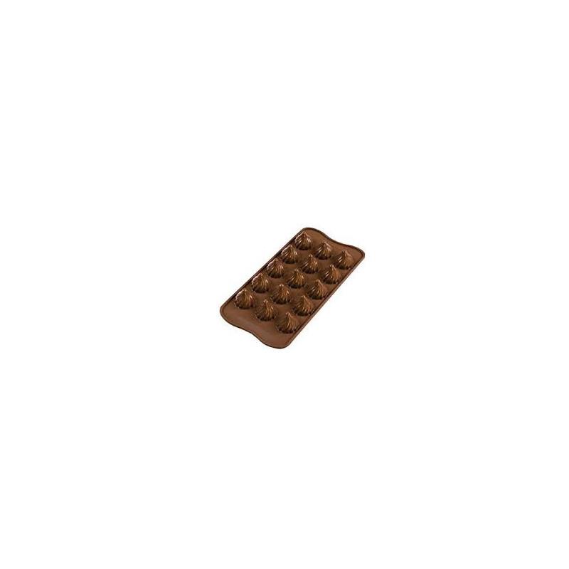 MOULE CHOCOLAT  FLAME - silikomart