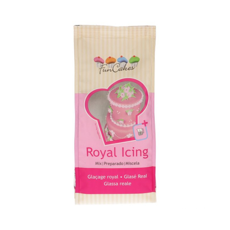 MIX PREPARATION POUR GLACE ROYALE FUNCAKES 450 GR