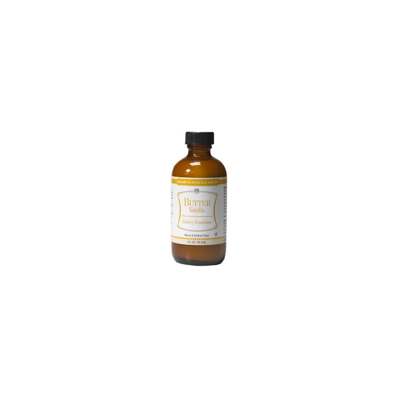 Arome Emulsion Beurre vanille, 118,3 ml
