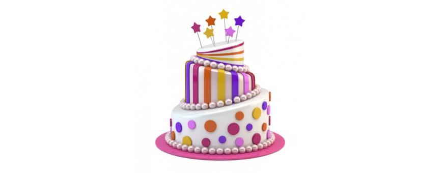 Pate a sucre, moule a gateau, moule anniversaire
